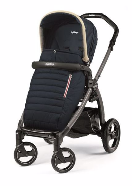 Peg Perego Book S Completo Modular Pop Up S+Elite C Breeze Blue-Jet babakocsi - Brendon - 82940