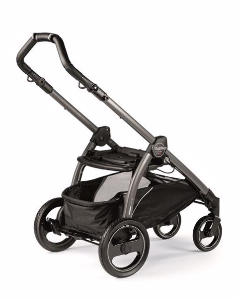 Peg Perego Book S Completo Modular Pop Up S+Elite C Breeze Blue-Jet babakocsi - Brendon - 82943