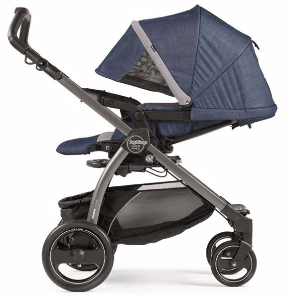 ... Peg Perego Book S Completo Modular Pop Up S+Elite C Urban Denim-Jet ... bbe3cfd964