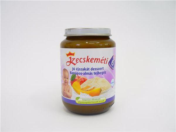 Kecskeméti Jó éjszakát Banános-almás tejbegríz 190g  babadesszert - Brendon - 85654