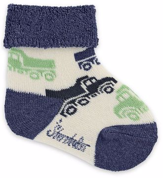 Sterntaler 8401702 903 Offwhite ponožky - Brendon - 86601