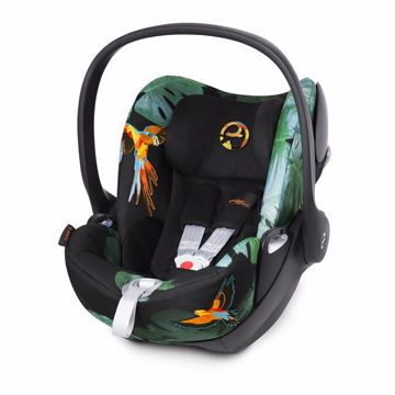 Cybex Cloud Q Platinum Fashion Birds of Paradise hordozó 0-13 kg - Brendon - 91892