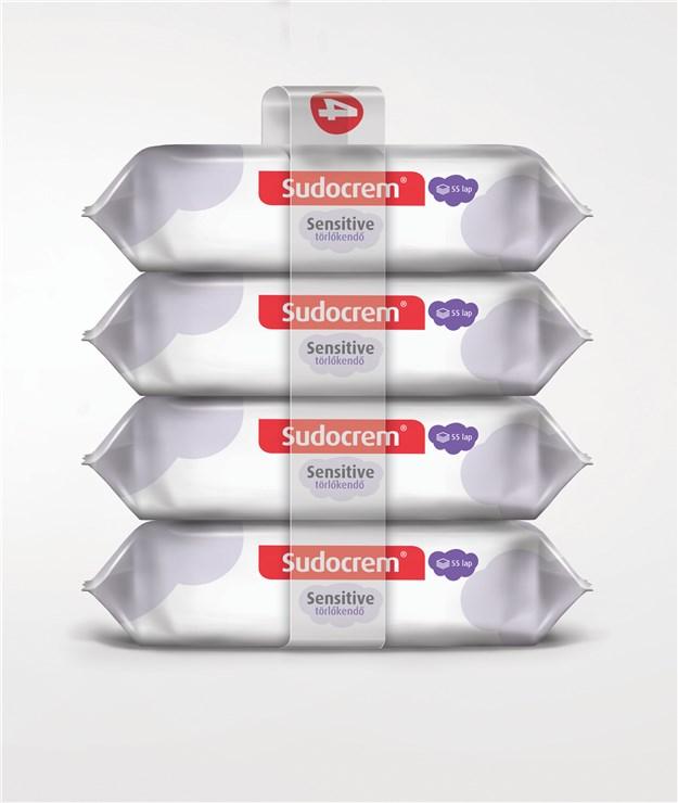 Sudocrem Sensitive 4x55 pcs  utierky - Brendon - 92521