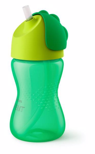 Philips AVENT Straw Cup Single 300 ml HU/SK Boy itatópohár - Brendon - 94984