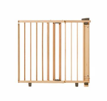 Geuther Door guard Plus 2734+ 86-121cm Natur biztonsági rács - Brendon - 95105