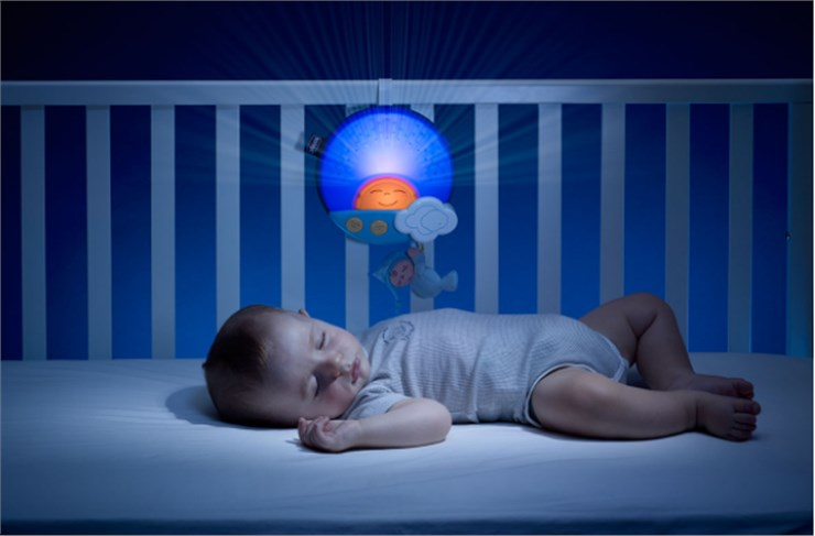 Chicco First Dream Sunset Panel Blue altató játék - Brendon - 95128