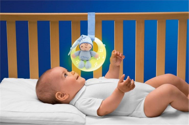 Chicco GoodNight Moon Boy WS altató játék - Brendon - 95129