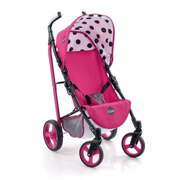 cabc4241c Hauck I' coo Doll Pluto Stroller icoo Pink játék babakocsi - Brendon -  95259 ...