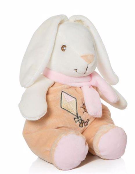 Artesavi Bunny with scarf 28cm pink plyš - Brendon - 95630