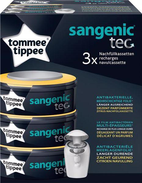 Tommee Tippee Sangenic TEC refill 3 pcs  pelenkatartó vödör utántöltő - Brendon - 97546