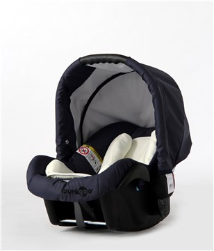 Touragoo Cinder Plus Grey-Navy hordozó 0-10 kg - Brendon - 97590