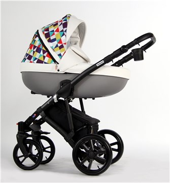 Touragoo Tweed Gel Multicolor Premium babakocsi - Brendon - 97709