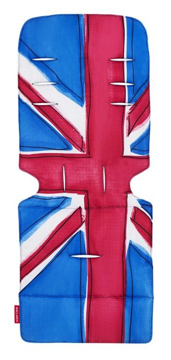 Maclaren Reversible Seat Liners Union Jack/ Princess Blue babakocsi betét - Brendon - 98088