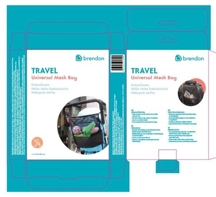 Brendon Travel Universal Mesh  bevásárlóháló - Brendon - 98151
