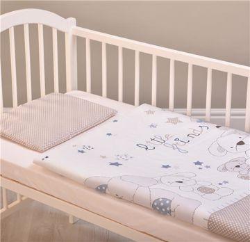 Brendon HUN-M/90*130 Little Friends Blue posteľná bielizeň - Brendon - 98617