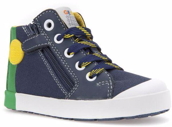 3b86f6111 Geox B82A7D/010BC C4248 Navy Green/24-26 plátená obuv - Brendon ...