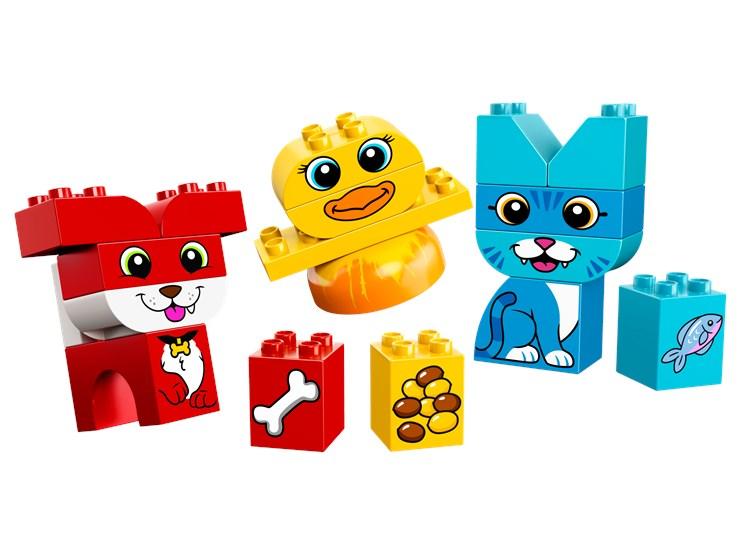 LEGO DUPLO My First Puzzle Pets 10858  építőjáték - Brendon - 103784