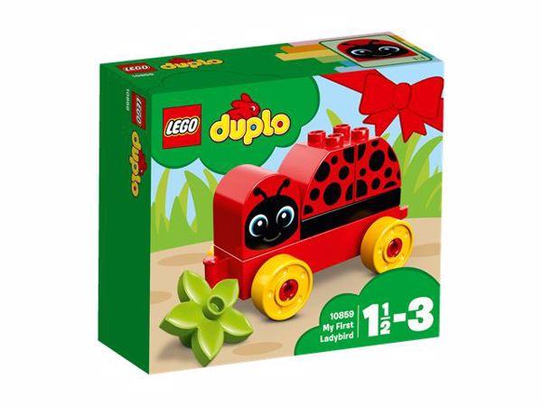 LEGO DUPLO My First Ladybug 10859  építőjáték - Brendon - 103786