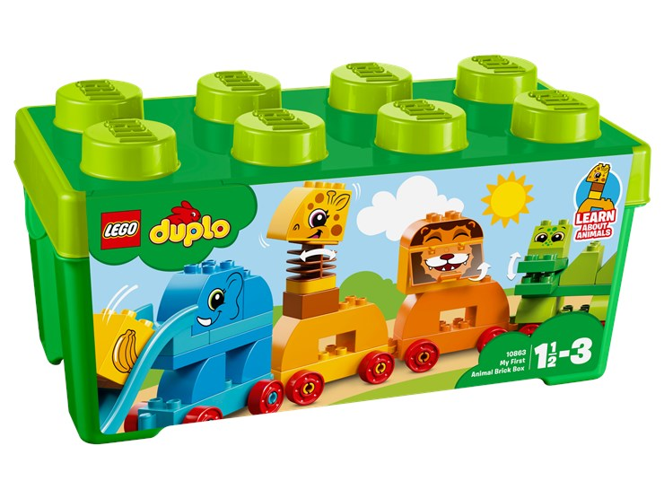 LEGO DUPLO My First Animal Brick Box 10863  építőjáték - Brendon - 103884