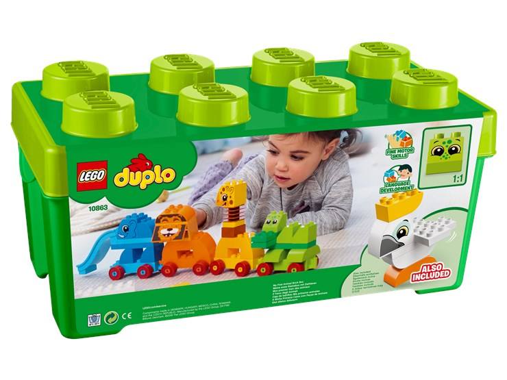 LEGO DUPLO My First Animal Brick Box 10863  építőjáték - Brendon - 103885