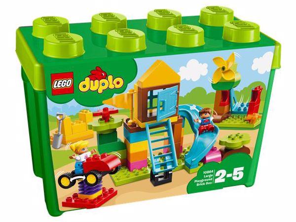 LEGO DUPLO Large Playground Brick Box 10864 építőjáték - Brendon - 103888  ... 314e14420b