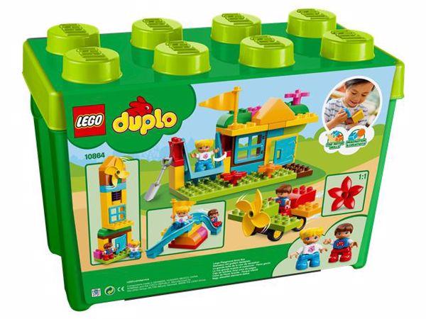 LEGO DUPLO Large Playground Brick Box 10864  építőjáték - Brendon - 103889
