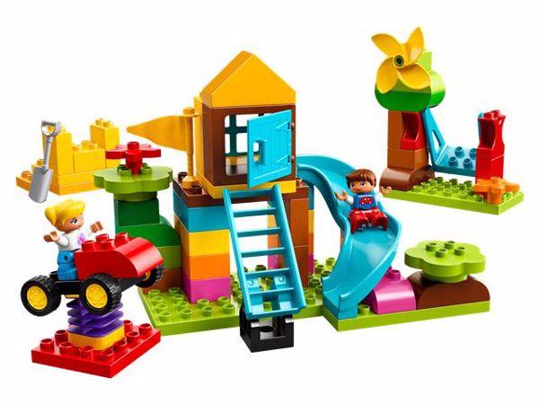 LEGO DUPLO Large Playground Brick Box 10864  építőjáték - Brendon - 103890