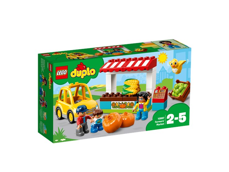 LEGO DUPLO Farmers' Market 10867  építőjáték - Brendon - 103893
