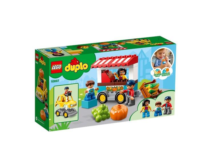 LEGO DUPLO Farmers' Market 10867  építőjáték - Brendon - 103894