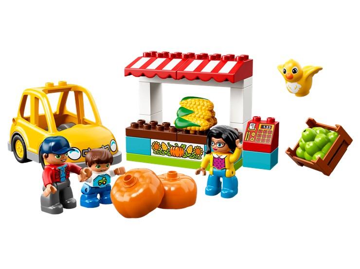 LEGO DUPLO Farmers' Market 10867  építőjáték - Brendon - 103895