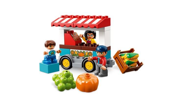 LEGO DUPLO Farmers' Market 10867  építőjáték - Brendon - 103896
