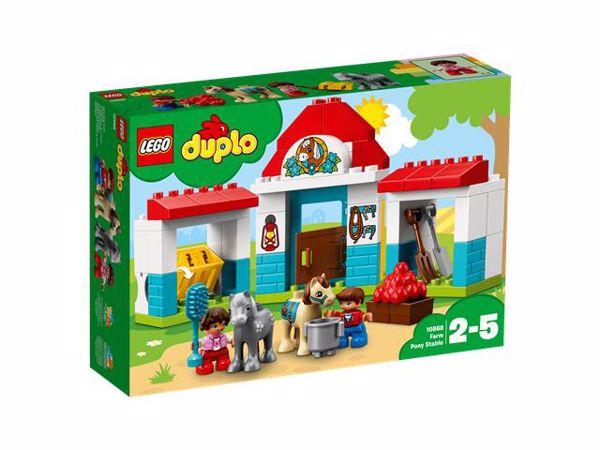 LEGO DUPLO Farm Pony Stable 10868  építőjáték - Brendon - 103898