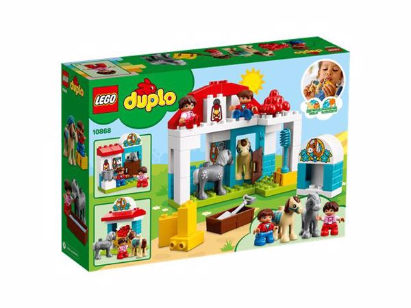 LEGO DUPLO Farm Pony Stable 10868  építőjáték - Brendon - 103899