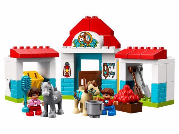 LEGO DUPLO Farm Pony Stable 10868  építőjáték - Brendon - 103900