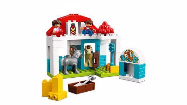LEGO DUPLO Farm Pony Stable 10868  építőjáték - Brendon - 103901