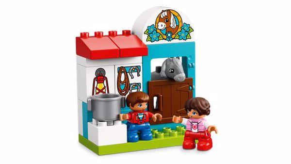 LEGO DUPLO Farm Pony Stable 10868  építőjáték - Brendon - 103902