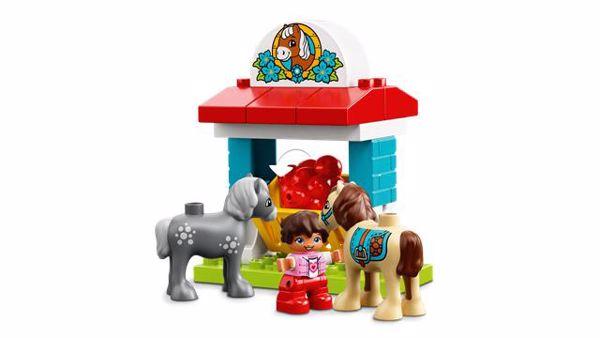 LEGO DUPLO Farm Pony Stable 10868  építőjáték - Brendon - 103903