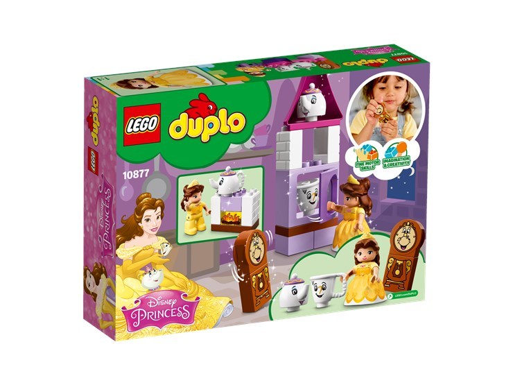 LEGO DUPLO Belle´s Tea Party 10877  építőjáték - Brendon - 103921