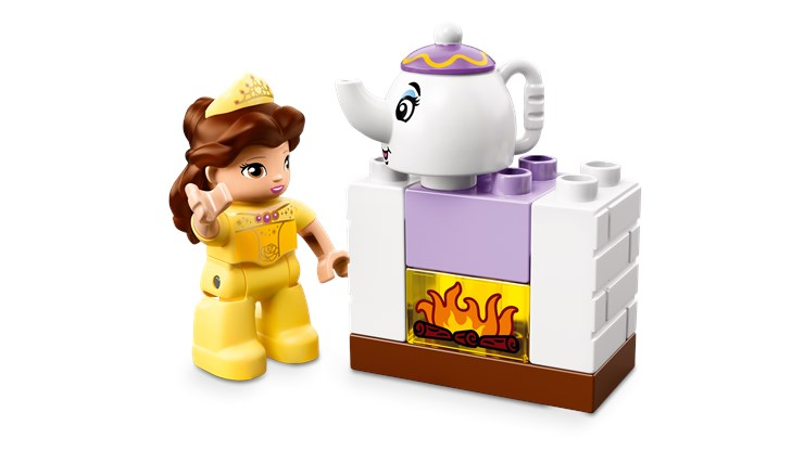 LEGO DUPLO Belle´s Tea Party 10877  építőjáték - Brendon - 103923