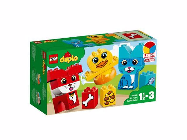 LEGO DUPLO My First Puzzle Pets 10858  stavebnica - Brendon - 104782