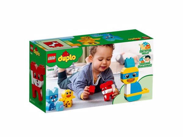 LEGO DUPLO My First Puzzle Pets 10858  stavebnica - Brendon - 104783