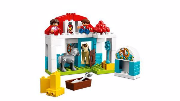 LEGO DUPLO Farm Pony Stable 10868  stavebnica - Brendon - 104901