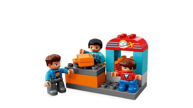 LEGO DUPLO Airport 10871  stavebnica - Brendon - 104915