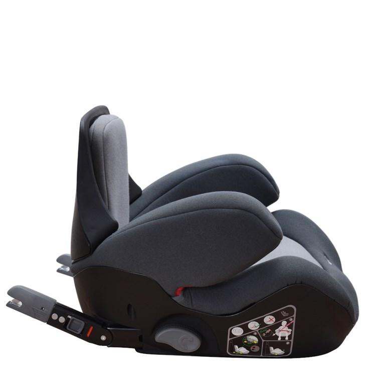 Touragoo Go-Fix Mineral Grey ülésmagasító 15-36 kg-ig - Brendon - 106429