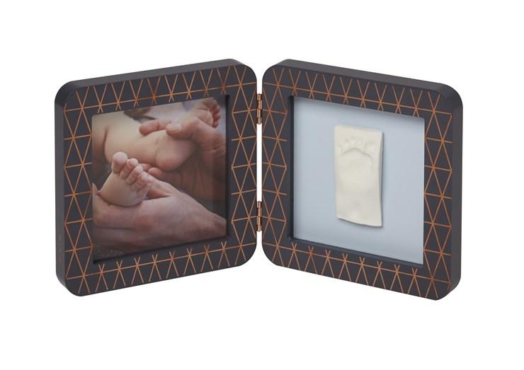 Baby Art My Baby Touch Simple Copper edition Dark grey fényképtartó - Brendon - 106564