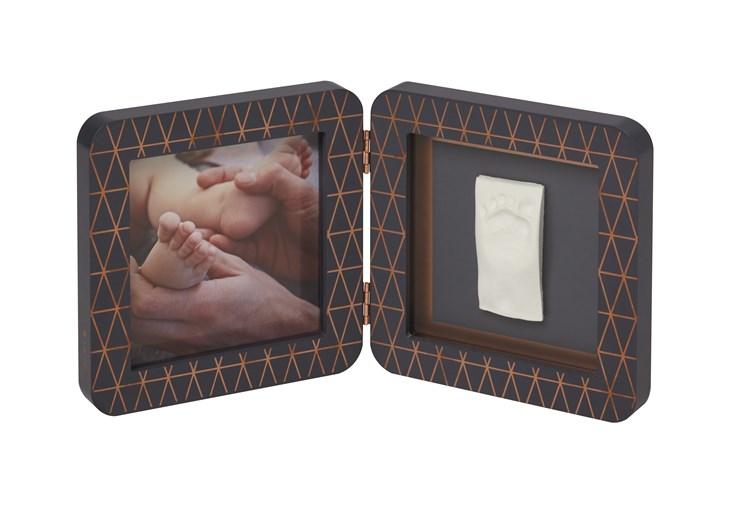 Baby Art My Baby Touch Simple Copper edition Dark grey fényképtartó - Brendon - 106565