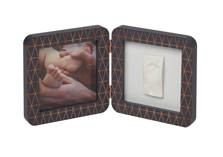 Baby Art My Baby Touch Simple Copper edition Dark grey fényképtartó - Brendon - 106567