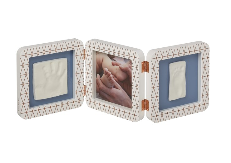 Baby Art My Baby Touch Double Copper edition White fényképtartó - Brendon - 106572