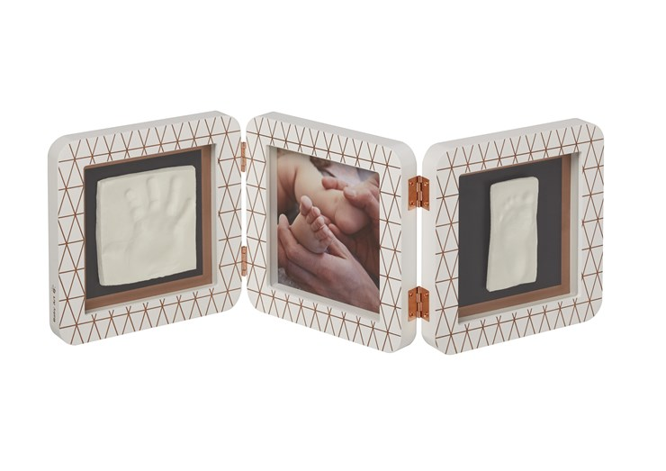 Baby Art My Baby Touch Double Copper edition White fényképtartó - Brendon - 106573