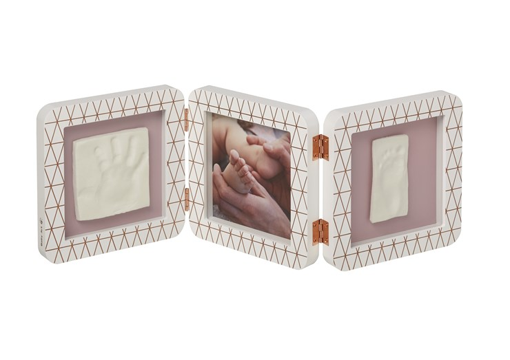 Baby Art My Baby Touch Double Copper edition White fényképtartó - Brendon - 106574